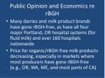 public opinion and economics re rbgh25