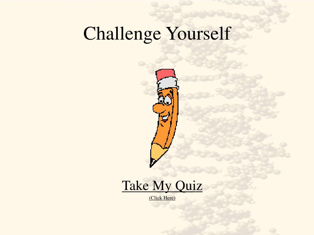 challenge yourself l.