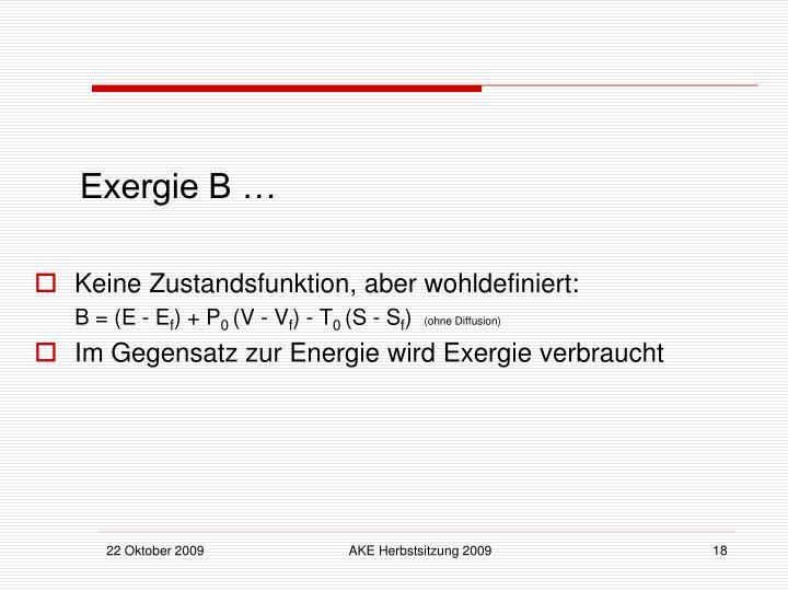 Exergie B …