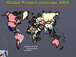 global project coverage 2005