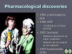 pharmacological discoveries1