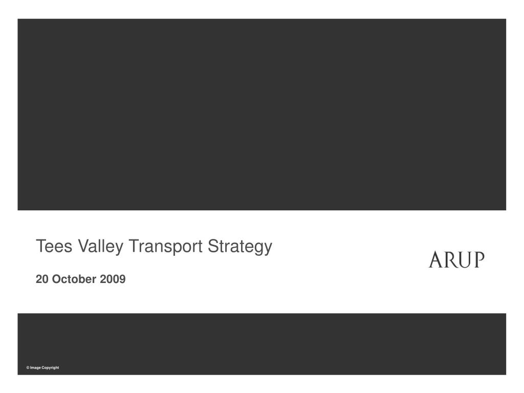 Tees Valley Transport Strategy