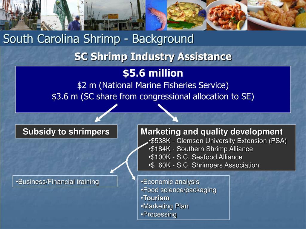 SC Shrimp Industry Assistance