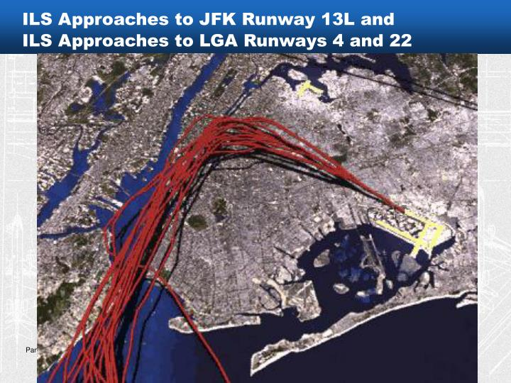 ILS Approaches to JFK Runway 13L and