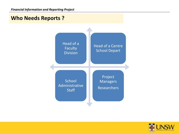 Financial Information and Reporting Project