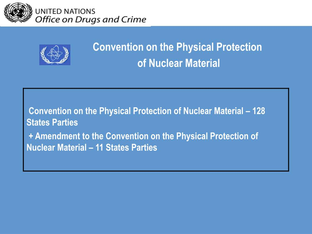 Convention on the Physical Protection