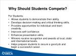 why should students compete