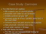 case study carnivore49