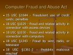 computer fraud and abuse act10