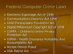 federal computer crime laws6