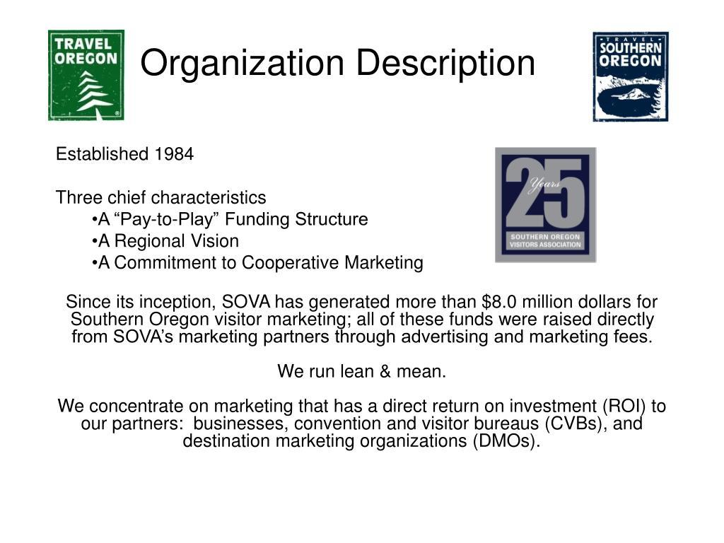 Organization Description