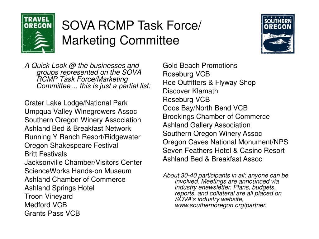 SOVA RCMP Task Force/