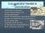 industrie und handel in demokratien