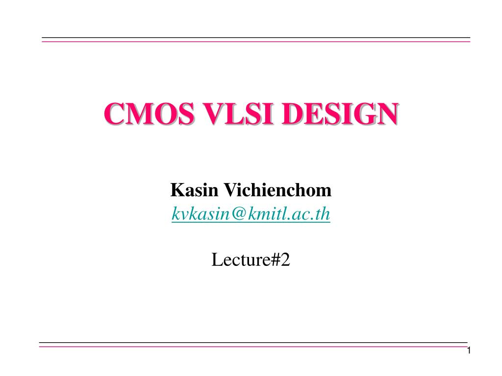 Ppt Cmos Vlsi Design Powerpoint Presentation Free Download Id 831835
