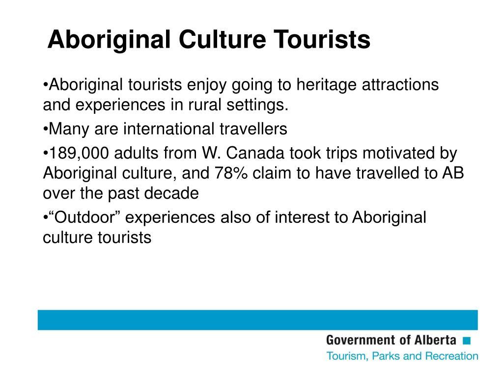 Aboriginal Culture Tourists