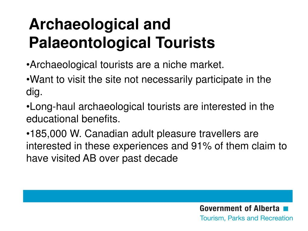 Archaeological and Palaeontological Tourists