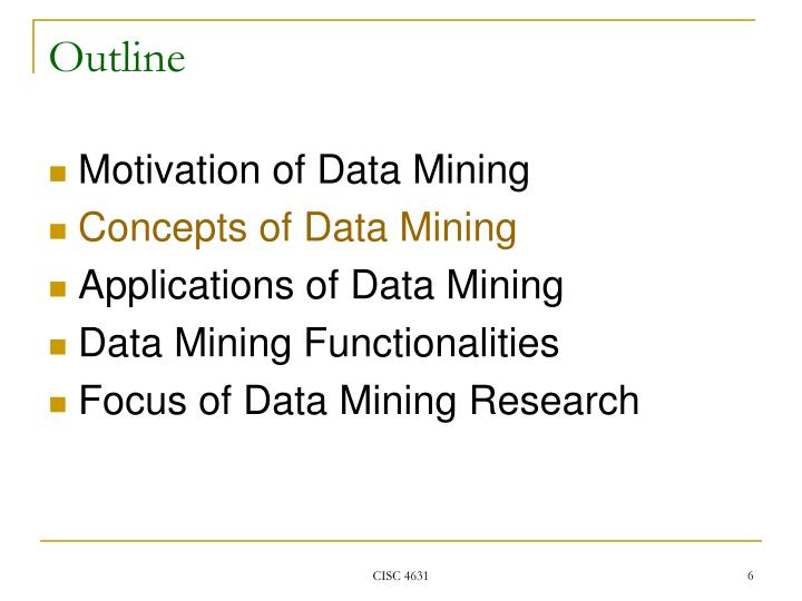 Simple data mining examples and datasets