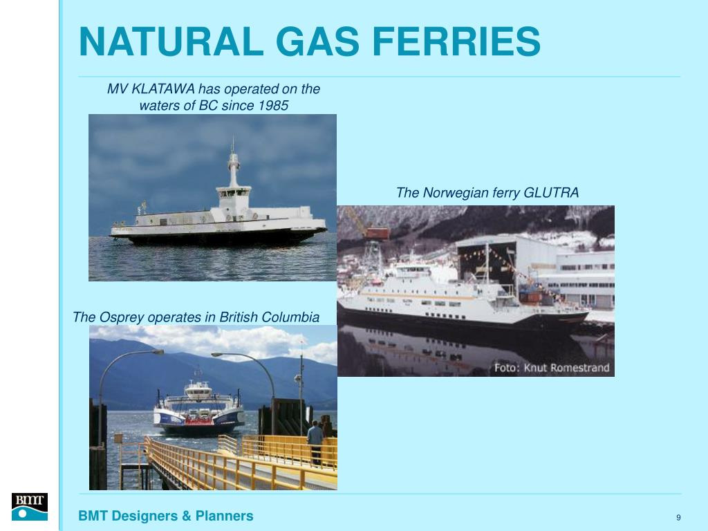 NATURAL GAS FERRIES