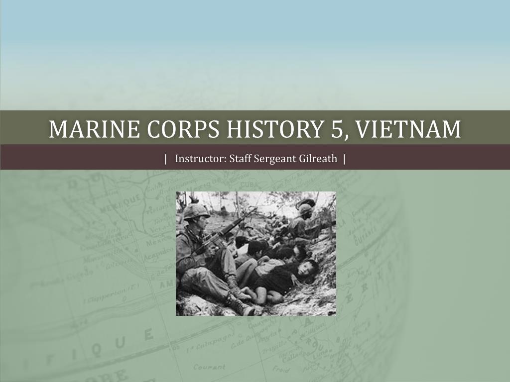 marine corps history 5 vietnam l.