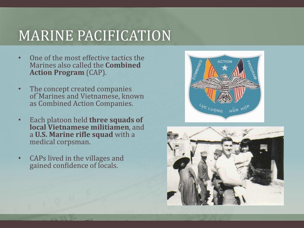Marine pacification