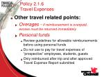 policy 2 1 6 travel expenses27