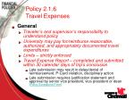 policy 2 1 6 travel expenses8