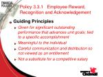 policy 3 3 1 employee reward recognition and acknowledgement72
