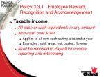 policy 3 3 1 employee reward recognition and acknowledgement74