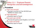 policy 3 3 1 employee reward recognition and acknowledgement75