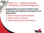 policy 3 3 1 employee reward recognition and acknowledgement78