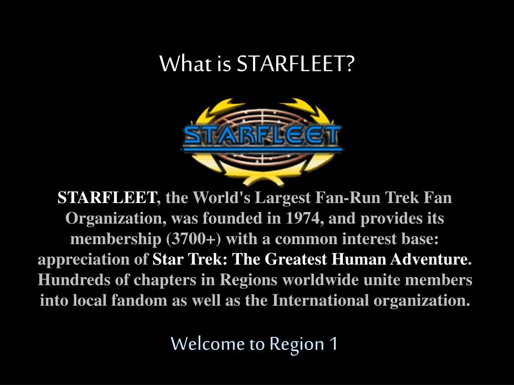 what is starfleet l.