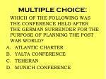 multiple choice101