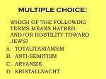 multiple choice99