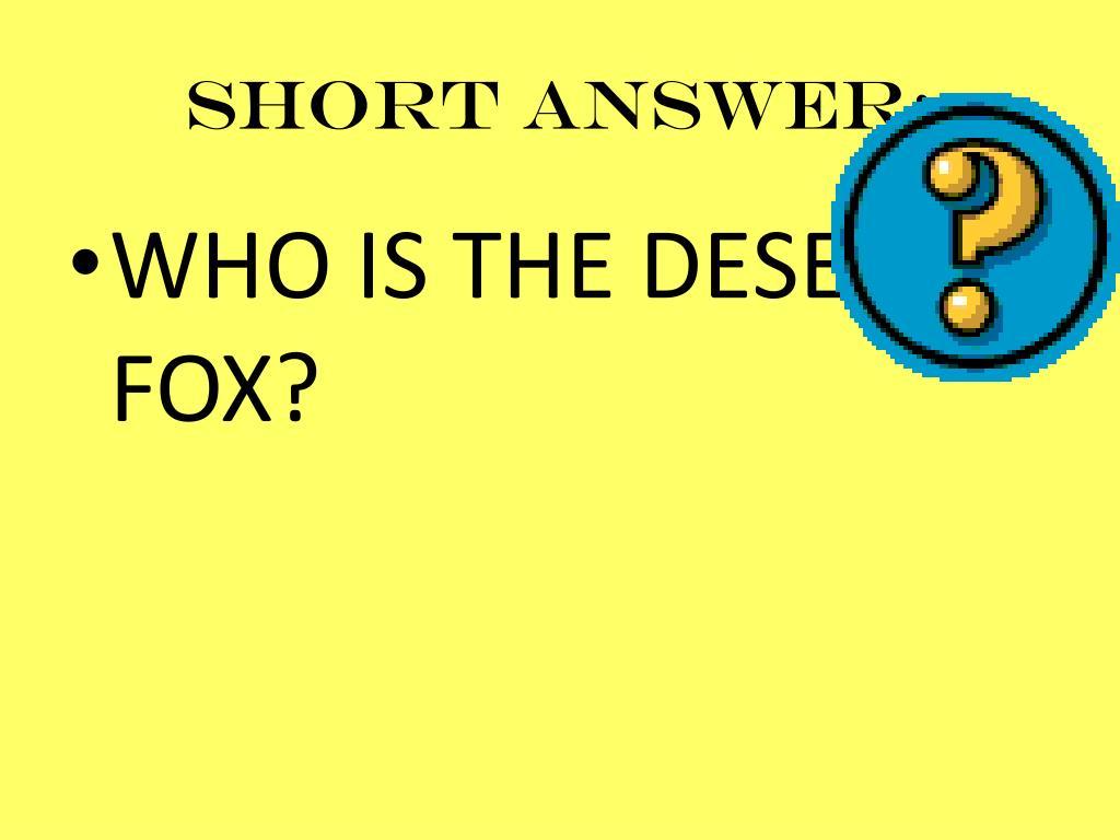 Short answer:
