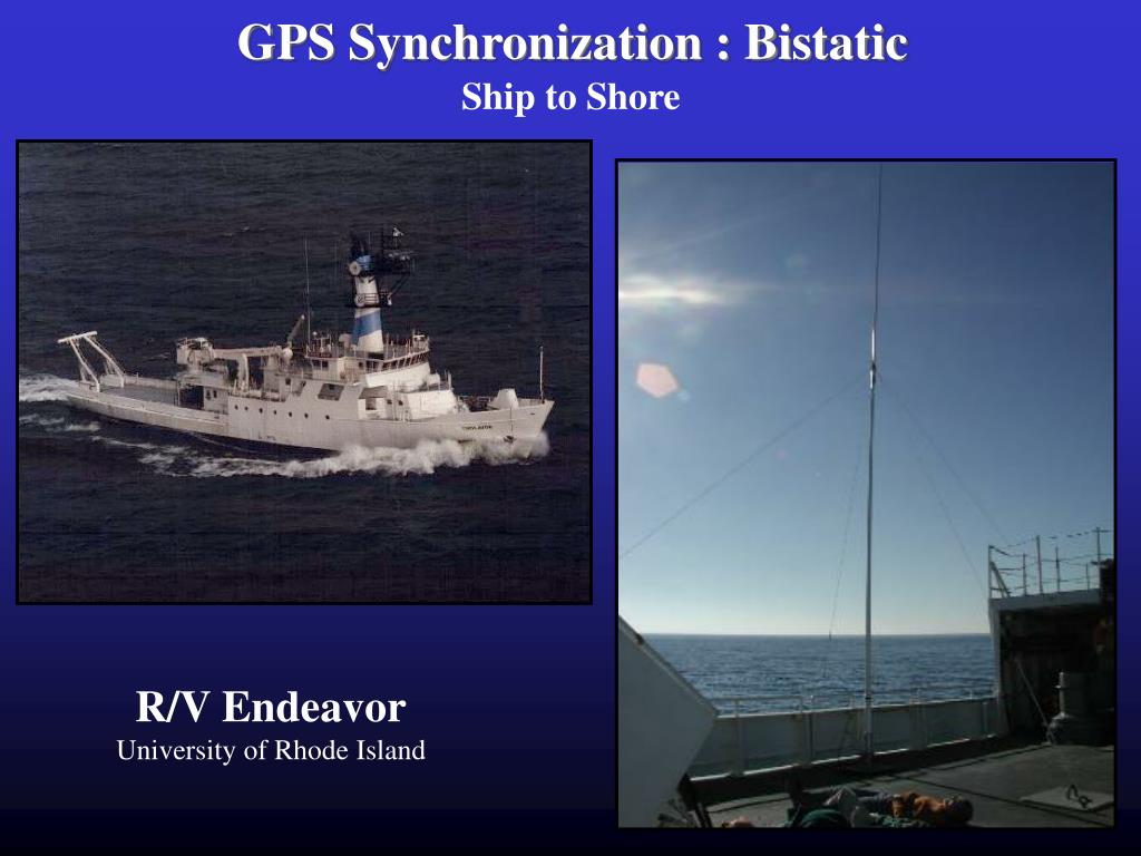 GPS Synchronization : Bistatic