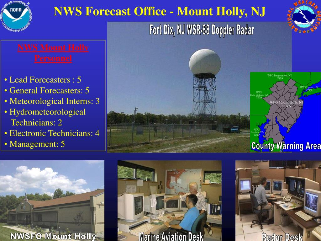 NWS Forecast Office - Mount Holly, NJ