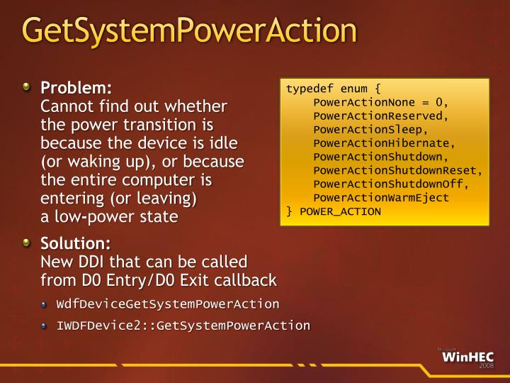 GetSystemPowerAction