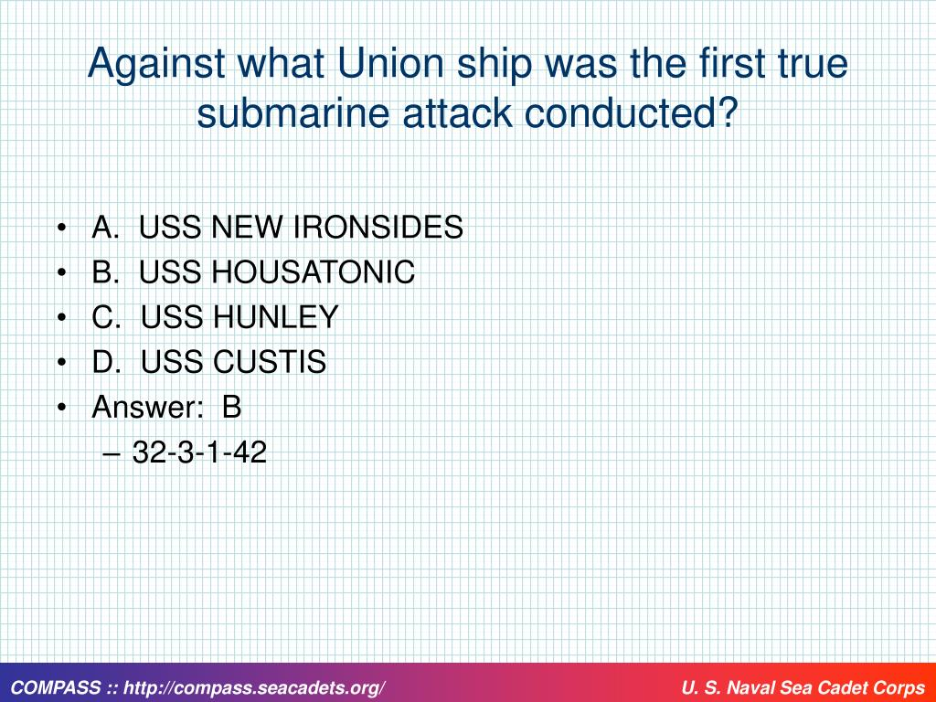 Against what Union ship was the first true submarine attack conducted?