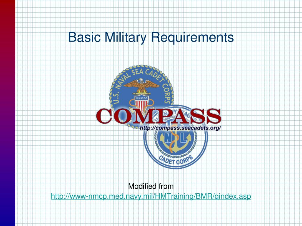 basic military requirements l.