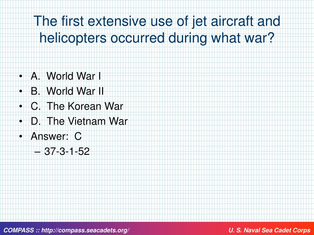 The first extensive use of jet aircraft and helicopters occurred during what war?