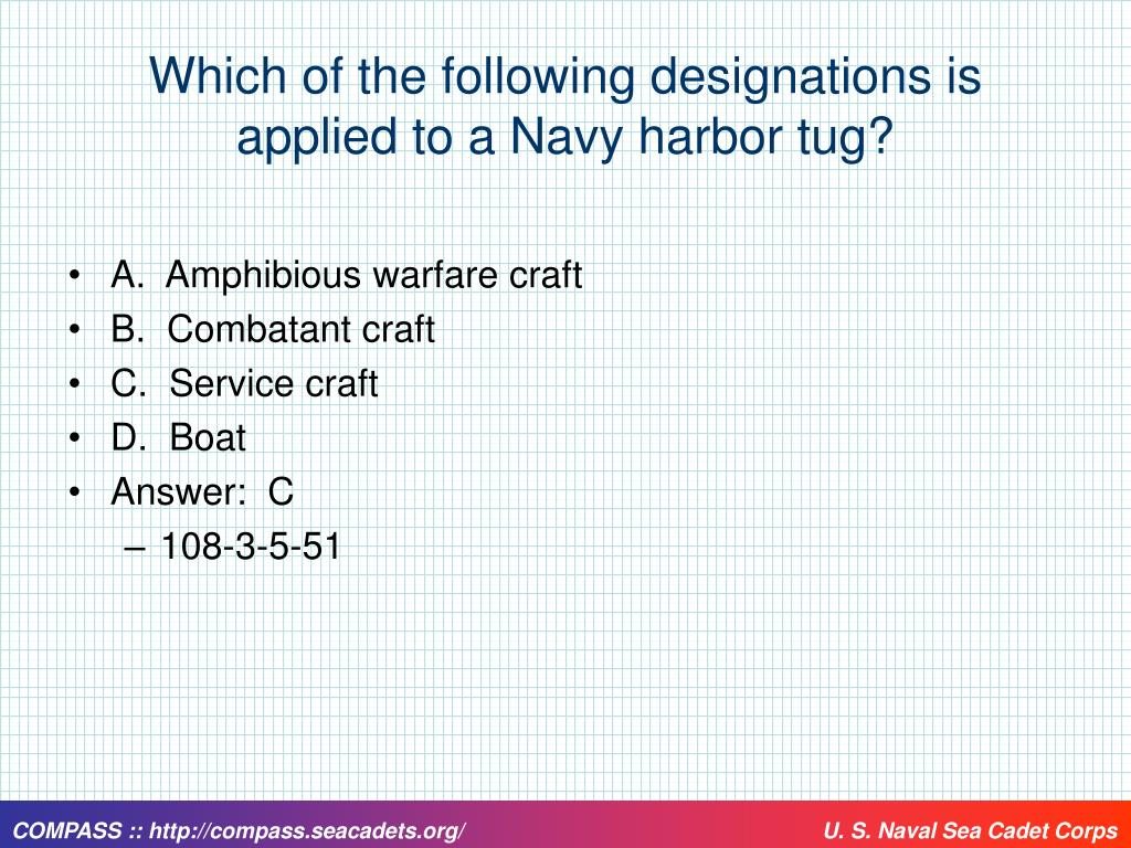 Which of the following designations is applied to a Navy harbor tug?