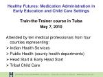 healthy futures medication administration in early education and child care settings10