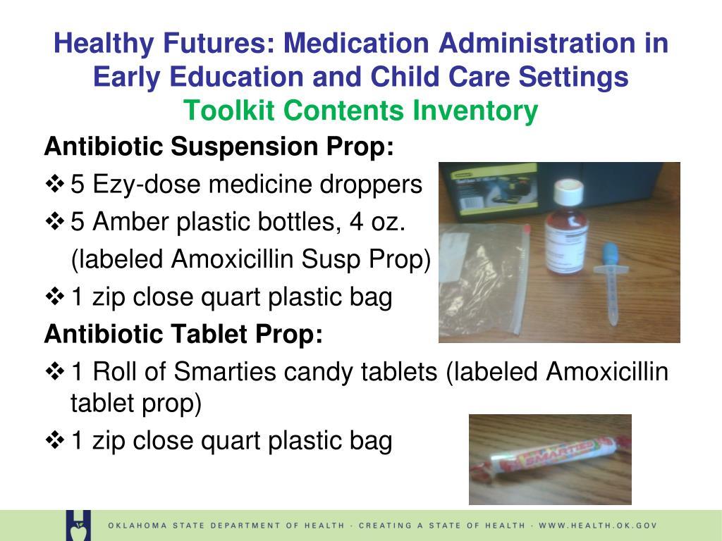 Antibiotic Suspension Prop: