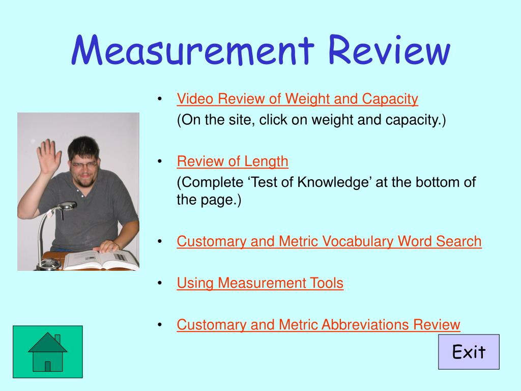 Measurement Review