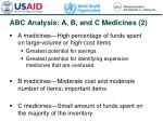 abc analysis a b and c medicines 2