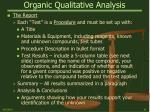 organic qualitative analysis10