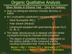 organic qualitative analysis18