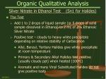 organic qualitative analysis19