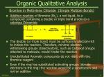 organic qualitative analysis23