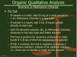 organic qualitative analysis24